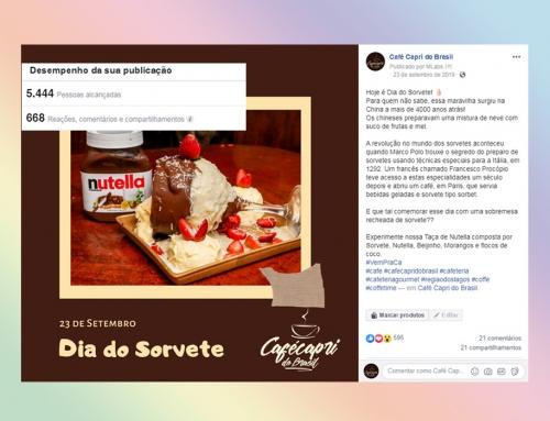 Facebook – Café Capri